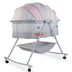 Portable Baby Crib Kids Sleeping Bags Pillow Newborn Baby Cradle Folding Bed Manual Crib 0~18 Months Use  Price: 80.33 & FREE Shipping   #newborn #love #family #sweet #little #funny