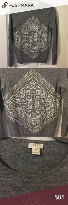 Like New! J.Crew Sweater In perfect condition like New never worn. Beautiful and soft sweater 100% Merino Wool. 🚫🙅Trades🙅🚫 J. Crew Sweaters Crew & Scoop Necks