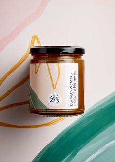 Bee One Third - Neighbourhood Honey on Packaging of the World - Creative Package Design Gallery Honey Packaging, Jar Packaging, Food Packaging Design, Branding Design, Organic Packaging, Identity Branding, Packaging Ideas, Corporate Design, Brochure Design