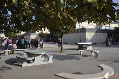 Picknickset Standaard Ovaal bij FSE du Collège de La Petite Camargue in Lansargues Sidewalk, Pavement, Curb Appeal