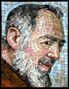Padre Pío by Colusso Mosaico