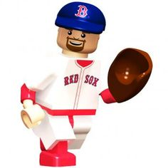 Kevin Youkilis Red Sox Minifigure