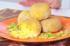 Рисовые шарики с сыром – это вкусный гарнир, который хорошо подойдет к блюдам из рыбы, мяса и т.д. Их очень любят дети и в большом восторге взрослые.