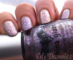 China Glaze Prismatic Chroma Glitters in Full Spectrum and Prism #nails #glitter