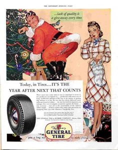1941 General Tire ad. The Saturday Evening Post.