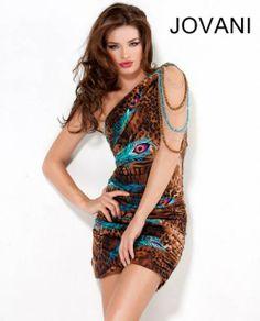 Mini Dress with Print, Style 6698