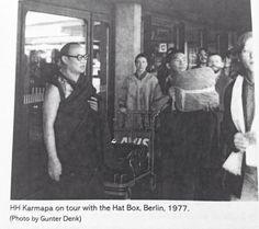 The 16th Karmapa 1977 in Berlin