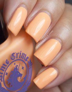 Lime Crime Peaches & Cream Nail Polish