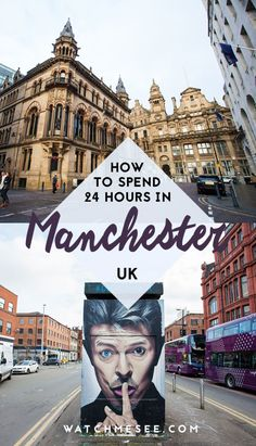 Here are all the top things to do in Manchester, England with only 24 hours. #manchester #england #unitedkingdom
