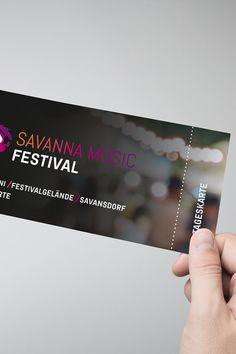Gestalte kreative Eintrittskarten, ganz nach Wunsch ein- oder beidseitig bedruckt. Events, Print Templates, Wish, Printing