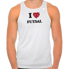I Love Futsal New Balance Running Tank Top Tank Tops