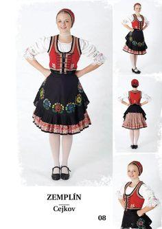 Zemplín, SK Folk Costume, Costumes, European Countries, Czech Republic, Dancers, Polish, Traditional, Beauty, Art