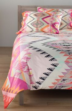 DENY Designs 'Pattern State - Marker Sun' Duvet Cover Set available at #Nordstrom