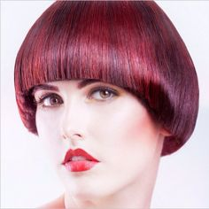 Daniele Sigigliano creates beautiful #AvedaColor using a combination of red & purple pure pigment.