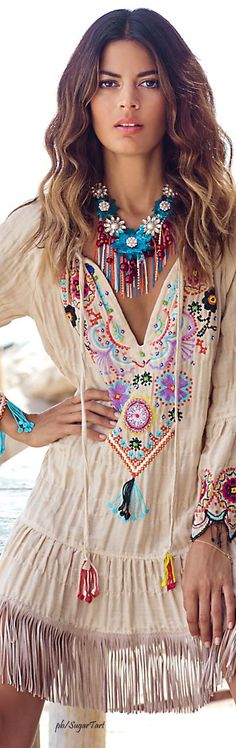 Anjuna Collection women fashion outfit clothing style apparel @roressclothes closet ideas