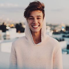 "[ fc : cameron dallas ]"" hey guys! i'm cameron, I'm 19 and I'm youtube, instagram,vine ( rip vine :T ) and just all around famous "" I laugh "" I'm very sweet and friendly, I have a sister named liza and I love her to pieces, we get along very well :), Intro?"