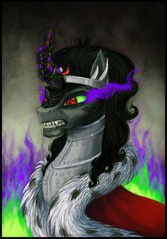 King Sombra by Vassarii.deviantart.com on @deviantART