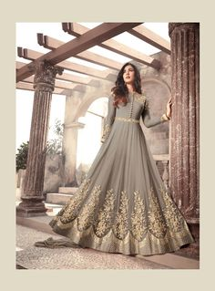Check out the online collection of Salwar Kameez in the Catalog 6777 at Indian Cloth Store. Get Catalog 6777 of Salwar Kameez in various designs, colors & sizes. Indian Designer Outfits, Indian Outfits, Designer Dresses, Floor Length Anarkali, Floor Length Dresses, Kaftan, Pakistani Bridal Dresses, Bridal Anarkali Suits, Anarkali Gown
