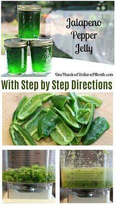 Canning 101 - How to Can Jalapeno Pepper Jelly Recipe Jalapeno Pepper Jelly, Jalapeno Pepper Recipes, canning Recipes, Jelly Recipes, Hostess Gifts Jalapeno Jelly Recipes, Jalapeno Pepper Jelly, Pepper Jelly Recipes, Jalapeno Jam, Hot Pepper Jelly, Stuffed Jalapeno Peppers, Canning Jalapeno Peppers, Canning Pepper Jelly, Chile Relleno