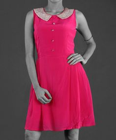 Pink Frock Dress Collar.find more fashion on www.gawzus.com