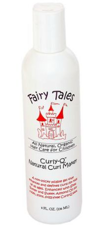 Fairy Tales Curly Q gel is my favorite for my little girls red curls.  It makes her hair go from just sort of wavy to ringlets in a matter of seconds, and it's not at all sticky.