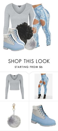 """shoulda been there -sevyn streeter ft. b.o.b"" by pretty-ambi ❤ liked on Polyvore featuring Topshop and Timberland"