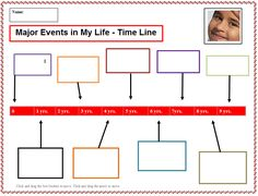 Free blank history timeline templates for kids and students special events in my life timeline 2 toneelgroepblik