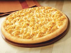 Mac n Cheese pizza recipe