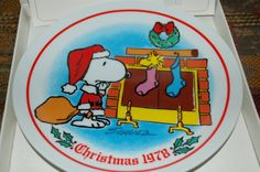Vintage PEANUTS Christmas Schmid Classic by PatchHappyPauper, $14.00
