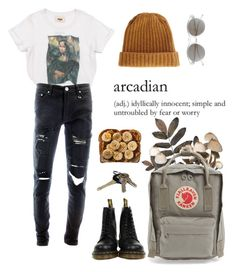 """Untitled #128"" by alduque ❤ liked on Polyvore featuring PAM, Item 8, ASOS, Dr. Martens, Fjällräven and Avon"