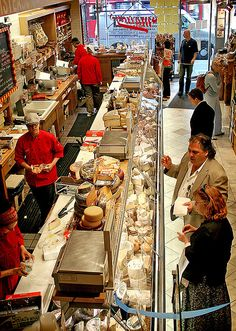 Murray's Cheese Shop, New York City, New York--a shop just for cheese? Only in New York City! And I love cheese! A New York Minute, Restaurants, Cheese Shop, Empire State Of Mind, I Love Nyc, Ny Ny, All I Ever Wanted, New York Travel, Usa Travel
