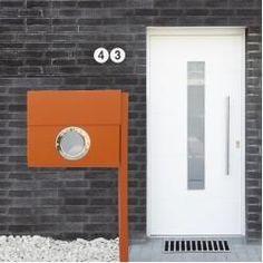 Hausnummern Edelstahl Products #homedecordiy