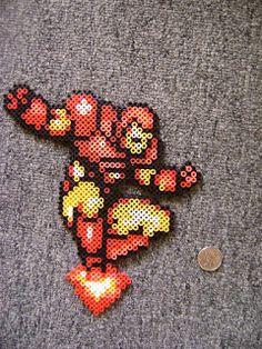 Long Black Fingers : Some Video Game Perler Beads