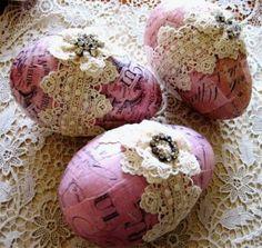 decoupaged eggs... (550×521)