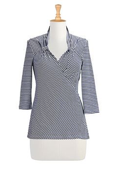 Vintage Knit Tops, Fashionable Plus Size Clothing