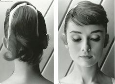 Audrey Hepburn, I'm really thinking of cutting my hair like her's.