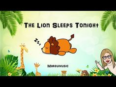 """Musicograma """"The lion sleeps tonight"""" - YouTube Online Music Lessons, Elementary Music Lessons, Piano Lessons, Kindergarten Music, Teaching Music, The Lion Sleeps Tonight, Music Education, Music Class, Music And Movement"""