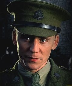 Tom Hiddleston as Captain Nicholls (War Horse)