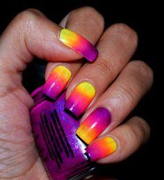 Neon Sunset http://www.makeupbee.com/look.php?look_id=64342
