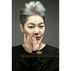 soft twoblock ash color /쟂빛 애쉬 염색으로 시크한 컬러감과 소프트 투블럭 컷을 연출하여 도도한 여성미 연출 (M.bolg.naver.com/xihun1171) 대구미용실 챨스헤어 여자머리