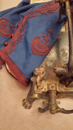 Men's costume from Megara 1920 Greek Traditional Dress, Different Dresses, Folk Costume, Larp, Costume Design, Alexander Mcqueen Scarf, Folk Art, Greek Costumes, Embroidery Dress