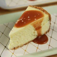 Roy Fares salted caramel cheesecake
