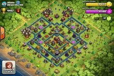 clash of clans al Clash Of Clans, Geek Stuff, Base, Awesome, Style, Geek Things, Clash On Clans
