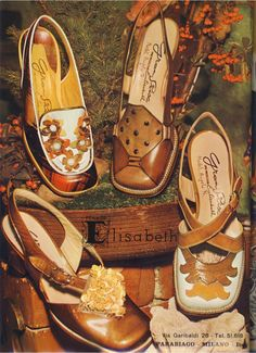 TheHistorialist: 1968 | THE GRAND PRIX LINE BY THE SHOEMAKER ELISABETH | DESIGN BY ANGELO RANCILIO | MASTER ARTISAN |