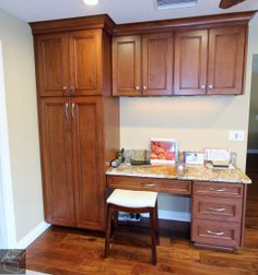 Remodel with custom Cabinets and brand new flooring in Fountain Valley