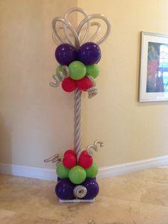 balloon decoration columns - Google Search