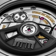 A play of black contrasts on a pink gold case. Royal Oak Offshore Selfwinding Chronograph Pride of Germany - Ref. Royal Oak Offshore, Rolex, Audemars Piguet, Pink And Gold, Pride, Germany, Play, Watches, Leather