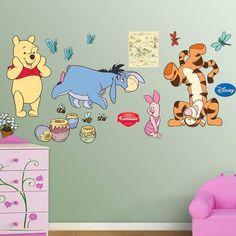 Fathead Disney Winnie the Pooh & Friends Wall Decals