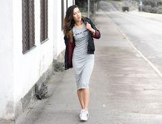 Look do dia: fenda com tenis Pinterest Adidas Superstar, Adidas