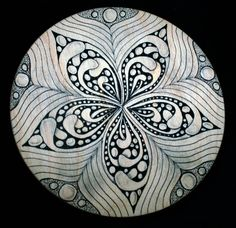 zentangle | Tangle-on disk will take Zentangle students to the next level!